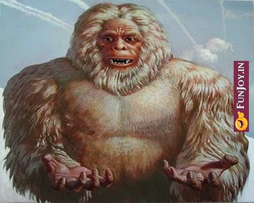 Yeti Seen in many places worldwide- हिममानव